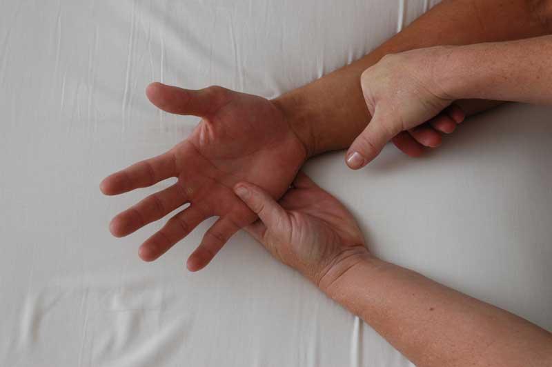 Rolfing hands