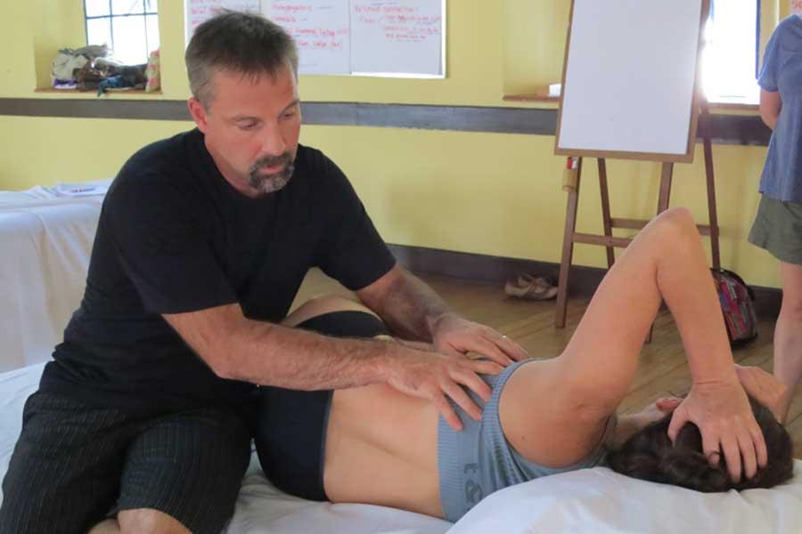 Jonathan Martine teaching
